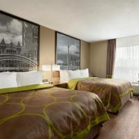 Super 8 by Wyndham Ajax/Toronto On, hotel v mestu Ajax