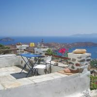 Traditional stone house with breathtaking view, hotel in Serifos Chora