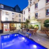Hotel Du Luxembourg Et Restaurant Les 4 Saisons, hotel in Bayeux