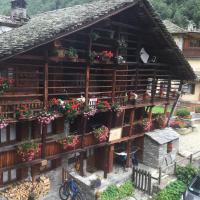 Hirsch Haus, hotell i Alagna Valsesia