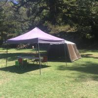 Basin Ku-ring-gai Campsite Set Up