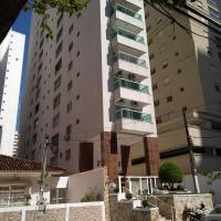 Apartamento Dulce Pitangueiras Guarujá com varanda