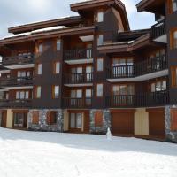 Valmorel Studio Skis aux pieds, hotel in Valmorel