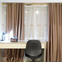 Spacious Studio Apartment @ The H Residence near MT Haryono by Travelio, hotel near Halim Perdanakusuma Airport - HLP, Jakarta