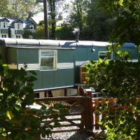 Showman's Wagon at Coed Cae