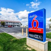 Studio 6-Buttonwillow, CA, hotel in Buttonwillow