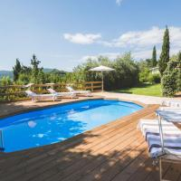 Exclusive beautiful pool house surrounded by greenery, modern, luxury finishes