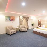 Jinan Al Nakhil Apartment Hotel, hotel em Al Muzāḩimīyah