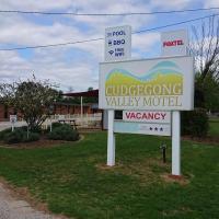 Cudgegong Valley Motel, hotel em Mudgee