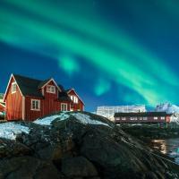Svinøya Rorbuer, hotell i Svolvær