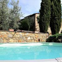 La Capanna Di Arsoli piscina ad uso esclusivo, hotell i Cavriglia