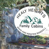 Healy Heights Family Cabins, hotel v destinaci Healy