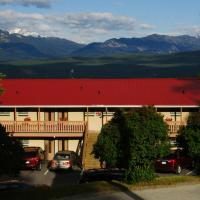 Rocky Mountain Springs Lodge and Citadella Restaurant, hotel em Radium Hot Springs