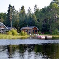 Les 4 chalets - Le 605, hotel em Lac-Saint-Paul