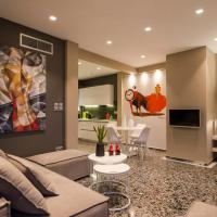 Ma Maison Nο 1, Penthouse, Acropolis and Lycabettus view, 15' to Acropolis by metro, 1' from Metro Station