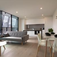 Brand new apt at the heart of South Melbourne, hotel in South Melbourne, Melbourne
