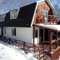 Белый дом с двумя студиями и баней