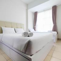 Elegant and Spacious 1BR Saveria Apartment near ICE BSD By Travelio, hotel in Samporo