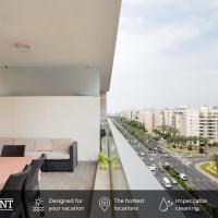 Beautiful Apts w/ Large Balcony & Parking by Sea N' Rent, hotel near Sde Dov Airport - SDV, Tel Aviv