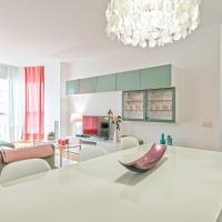 Cálido apartamento con piscina en Barcelona
