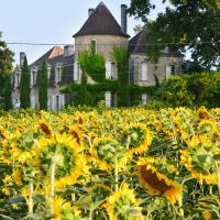 Saint-Martin-de-Riberac Chateau Sleeps 16 Pool WiFi, hôtel à Saint-Martin-de-Ribérac
