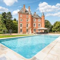Vescours Chateau Sleeps 20 Pool WiFi