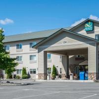 Quality Inn & Suites at Olympic National park, hotel v destinaci Sequim