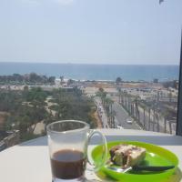 T3, 2 chambres, en bord de mer Givat Olga Hadera, hotel in Giv'at Olga