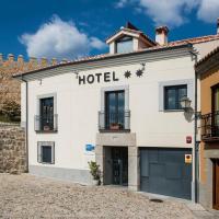 Hotel Puerta de la Santa, отель в городе Авила