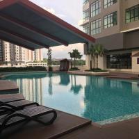 IOI Conezion Iman's Home with Pool View Unit