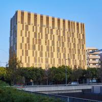 easyHotel Barcelona Fira, hotel a l'Hospitalet de Llobregat