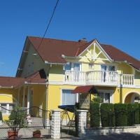 Villa Jäger, hotel Vonyarcvashegyen