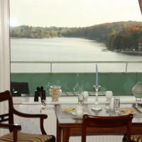 Panoramablick über den See, Hotel in Bad Segeberg