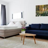 Apartment BLISSE Large & Cozy Family & Business Flair welcomes you - Rockchair Apartments