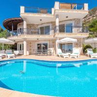 Kalkan Villa Sleeps 10 Pool Air Con WiFi