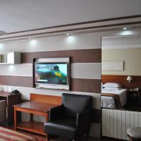 Flat em Hotel 4 estrelas Ed Alpenhaus Gramado-4 pessoas