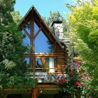 Cabaña de troncos Willow