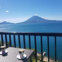 Sky view Atitlán lake suites ,una inmejorable vista apto privado dentro del lujoso hotel