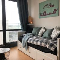 Cozy studio in Belval with Netflix next to Rockhal, hôtel à Esch-sur-Alzette