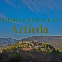 Albergue Restaurante de Artieda, hotel en Artieda