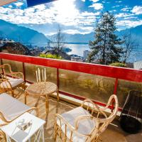 Terrace with Lake & Mountain View