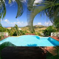 Rodney Bay Villa Sleeps 6 Pool Air Con WiFi, hotel in Rodney Bay Village