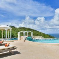 Cap Estate Villa Sleeps 8 Pool Air Con WiFi, hotel in Cap Estate