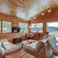 Two Story Adirondack Log Cabin