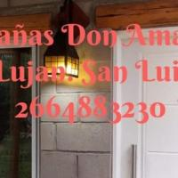 Cabañas Don Amadeo, hotel en Luján