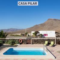 Casa Pilar, Aurora y Tarabilla en Finca Ecológica