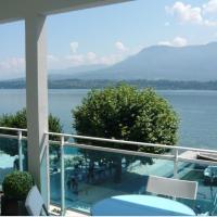 Vue sublime sur le lac du Bourget, hôtel au Bourget-du-Lac