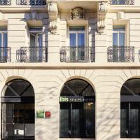 ibis Styles Marseille Gare Saint-Charles, hotel in Marseille