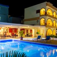 Hotel Las Palmeras, отель в городе Сосуа