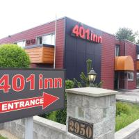 401 Inn, hotel em Burnaby